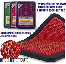Massager medical applicator KUZNETSOVA metal-magnetic on a soft substrate15х22cm