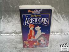 Aristocats VHS Large Case Disney Animated