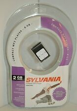 Sylvania 2 Gb Compact Mp3 Player Stereo Earbuds Bundle Factory Sealed Music