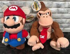 VTG Nintendo N64 Lot 1997 Mario Donkey Kong Plush Bean Bag Toys - NWT
