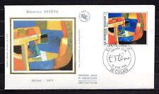 France - 1986 Painting Maurice Esteve -  Mi. 2544 FDC (silk)