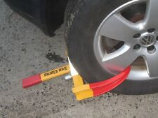 Car Van Trailer Caravan Motorvan Universal Lock heavy duty anti theft clamp AC28