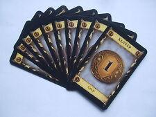 Dominion: 10 x Kupfer - Ersatzkarten, Ersatz, Karten, Spiel des Jahres 2009