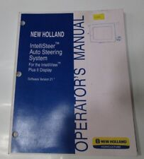 New Holland IntelliSteer Auto Steering System Operator's Manual, Version 21