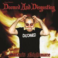 Doomed & Disgusting Satans Nightmare CD Aust Death Metal Sadistik Exekution