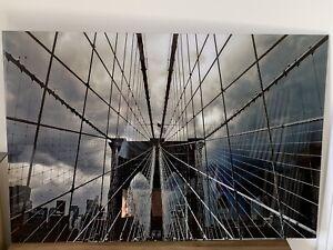 John Lewis Wall Art Brooklyn Bridge Abstract Picture New