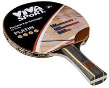 Viva Sport  TT / Tischtennis Schläger PLATIN / 4 Goldpunkte für Profi Neu / Ovp