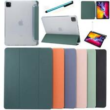 For iPad 7.9 9.7 10.2 10.5 11 inch Smart Leather Stand Case Cover w Pencil Slot