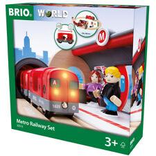 Brio Metro Railway Wooden Train Set 33513