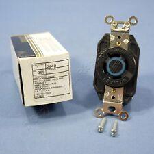 Leviton L18-20 Locking Receptacle V0 Outlet L18-20R 20A 120/208V 2440-065 Boxed