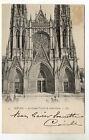 CPA 76 ROUEN le grand portail de saint ouen