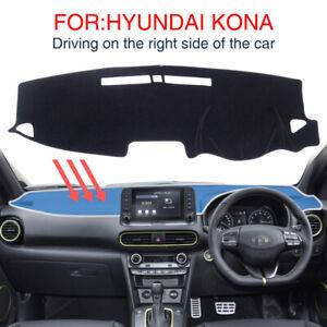 Dashmat for Hyundai Kona 2017 2018 2019 Kauai Anti-Slip Dashboard Pad Car Carpet