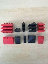 5x Lego Rails Alt-Hell Grey Curved Inside Smooth Train 7745 7740 3230b