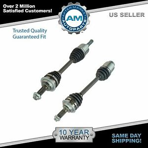 Front CV Axle Shaft Assembly Kit Pair for Fusion Milan MKZ 2.5L New