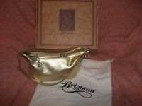 Brighton Gold Soft  Leather Purse.New W/ Box.....Simply Sweet!!