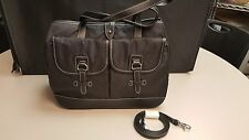New with Tags ETIENNE AIGNER Black Nylon Purse Handbagwith Shoulder Strap