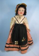 Antique Poupees Nicette Doll w/ Tag Paris France French Original Clothes 20""