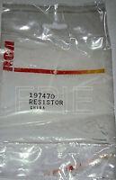 Lot of 2 197470 Original Resistor RCA