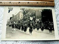 RARE 1915 Shriner parade downtown Seattle Washington real photo POSTCARD RPPC