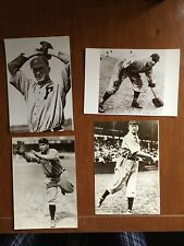 1978 BASEBALL PHOTO POSTCARDS, Cy Young, Speaker, Alexander and Trainer, Mint