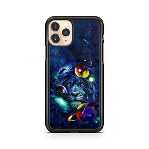 Majestic Space Lion Colourful Planets Starry Galactic Space Phone Case Cover