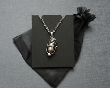Welcome to Night Vale radio DJ microphone necklace – NVCR fandom cosplay