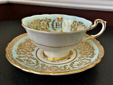 Paragon H.M. Queen Elizabeth II Coronation June 2 1953 Cup and Saucer A. 1455