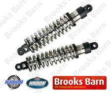 TRIUMPH BONNEVILLE / T100 2000-2010 Hagon Twin Nitro Shocks (Black)