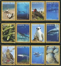 SAMOA  2018 NATIONAL GEOGRAPHIC MARINE LIFE SET MINT NH