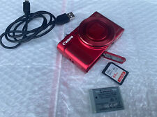 Canon PowerShot SX620 HS 20.2MP 25X Zoom Red Digital Camera 64GB Excellent! Read