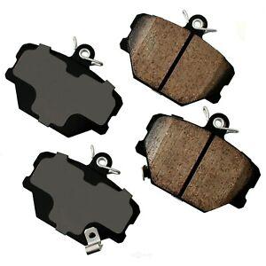 Disc Brake Pad Set-Euro Ultra Premium Ceramic Pads Front fits 08-16 Smart Fortwo
