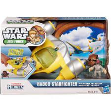 Star Wars Galactic Heroes Naboo Fighter Juguete de vehículos y 2 figuras de acción juego de lote
