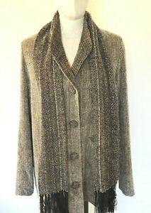 Tweed Bibi Stein Jacket & Scarf