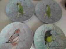 La La Land Australian Birds Melamine Plates X 4 - (Two Are Same Bird)