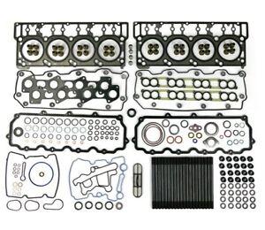 Complete Top End Cylinder Head Gasket / Studs Service Kit 03-10 6.0L Powerstroke