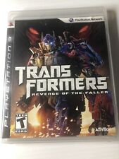 Transformers: Revenge of the Fallen (Sony PlayStation 3 PS3, 2009) Complete Game