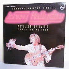 "2 x 33T Johnny HALLYDAY Disque LP 12"" Concert PAVILLON DE PARIS -PHILIPS 6681011"