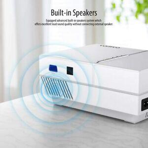 "Vamvo Proyector FullHD 5000 Lux, MAX de 200"",TV Stick, PS3, PS4, Xbox..."
