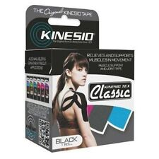 "Kinesio® Tex Classic Tape - 2"" x 13.1' - Black - One Roll - Each"