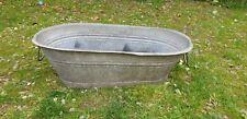 Vintage Old Bath Tub, Garden, Bulb Planter, Container, Pond #65