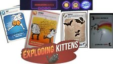 Exploding Kittens A Card Game about Kittens and Goats Explosions laser beams NEW