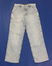 Rifle jeans work clothes denim vintage W30 tg 44 usato blu relaxed comodo T2811