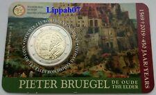 België speciale 2 euro 2019 Pieter Bruegel in Coincard Vlaams
