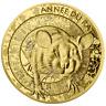 Frankreich - 50 Euro Lunar Serie 2020 - Jahr der Ratte - 1/4 Oz Gold PP