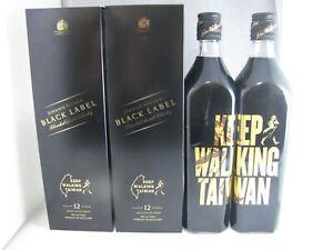 Johnnie Walker Whisky Black Label Taiwan Edition 700ml x 2 Full Sealed