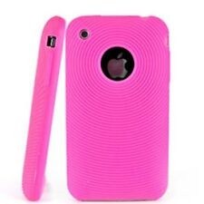 Hot Pink Silicon Case for iPhone 2G 3G