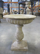 Sandsteinpokal, Gartenvase, Gartenpokal, Pflanzschale
