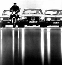 1971 BMW 2002 2800CS Coupe & Motorcycle Factory Photo ua5249-6M7DAU