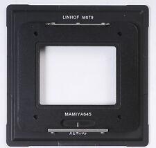 Adapter AFD Mamiya 645 Back To Linhof M679 F Phase One Sinar Leaf Digital Back