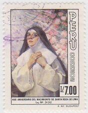 (PUA90) 1986 Peru 700I St Rosa de Lima ow1633
